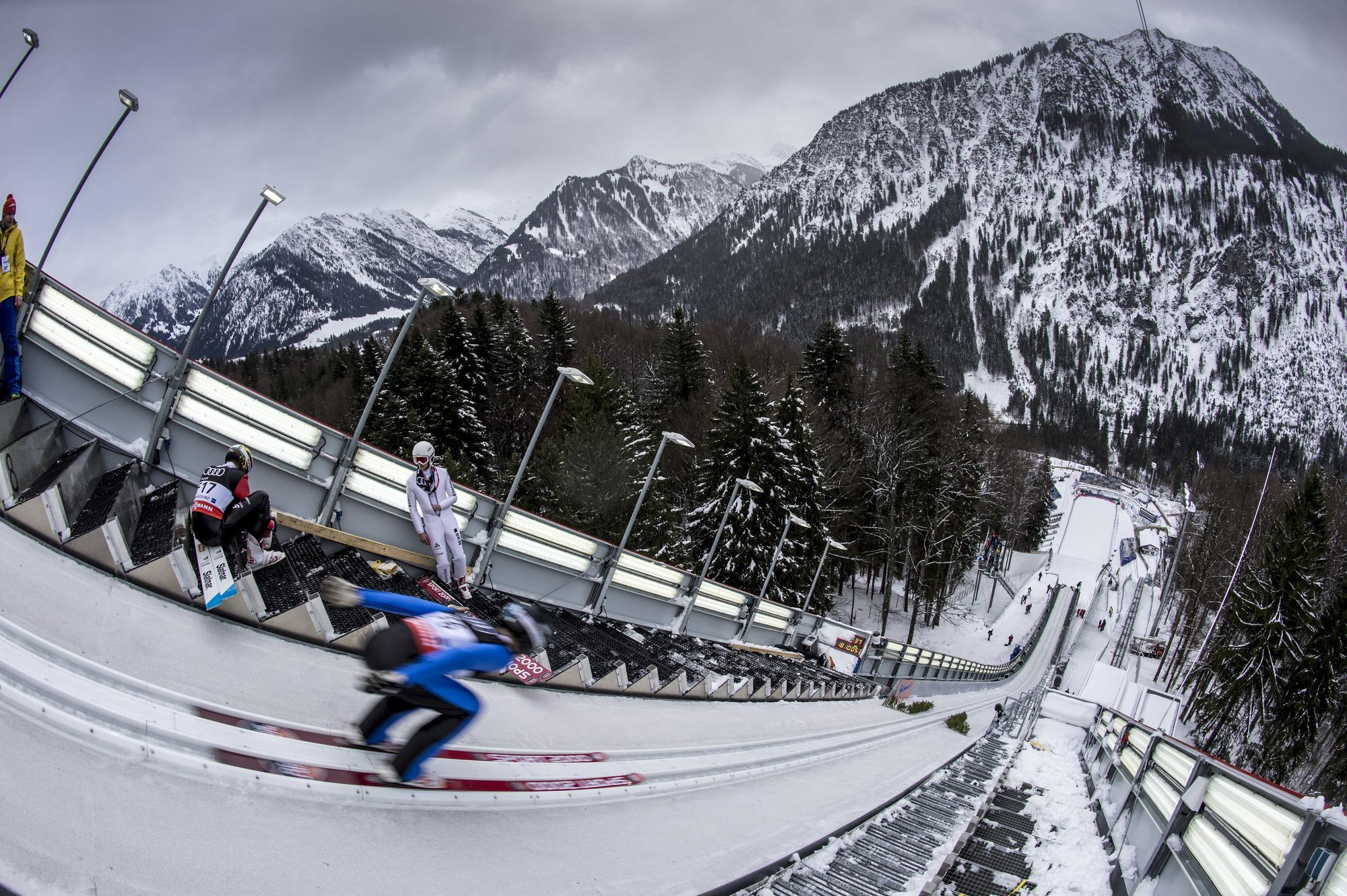 Skiflug Oberstdorf