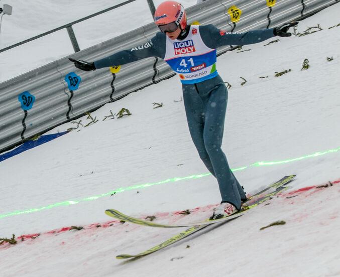 Skispringen Normalschanze