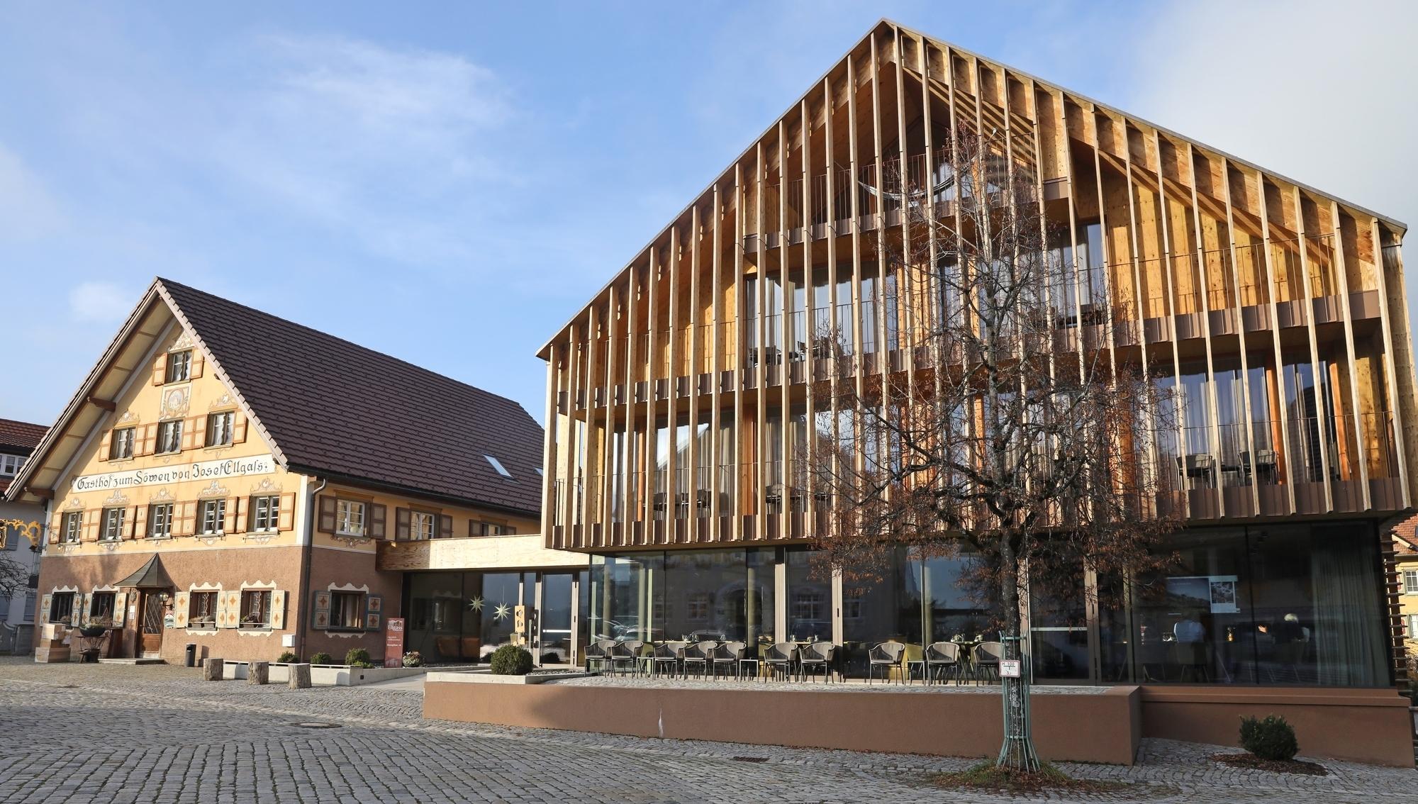 Eine Fichten Fassade Neu Interpretiert Allgau News Allgauer Zeitung