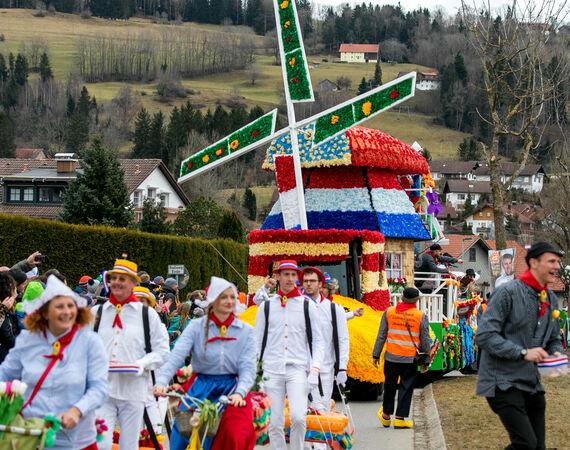 Sulzberg Faschingsumzug 2021