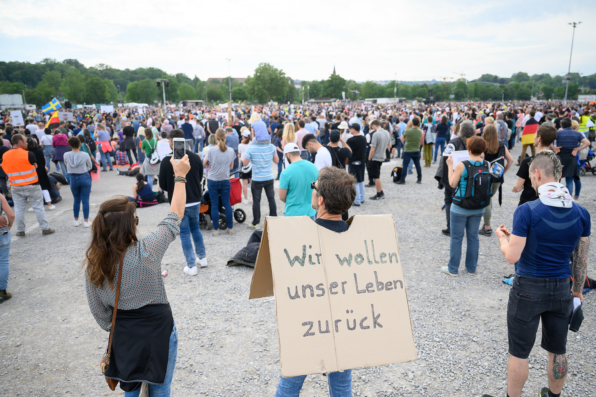 Stuttgart Demo Heute