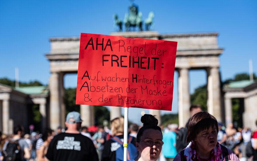 Demo In Berlin Gestern