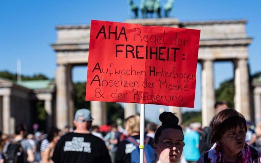 Nachrichten Berlin Demo