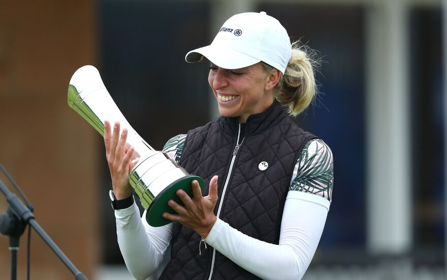 Golf - British Open: Sophia Popov hat als erste deutsche Golferin sensationell ein Major-Turnier gewonnen.