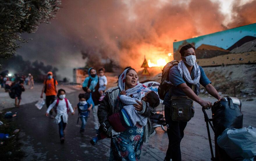Flüchtlingslager Moria Aktuell