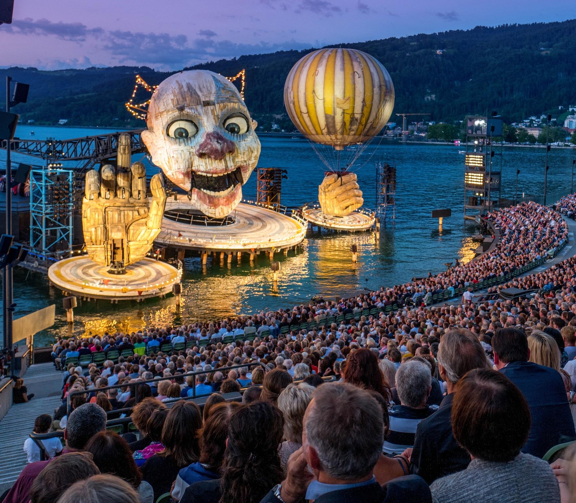 Bregenzer Festspiele 2021 Corona
