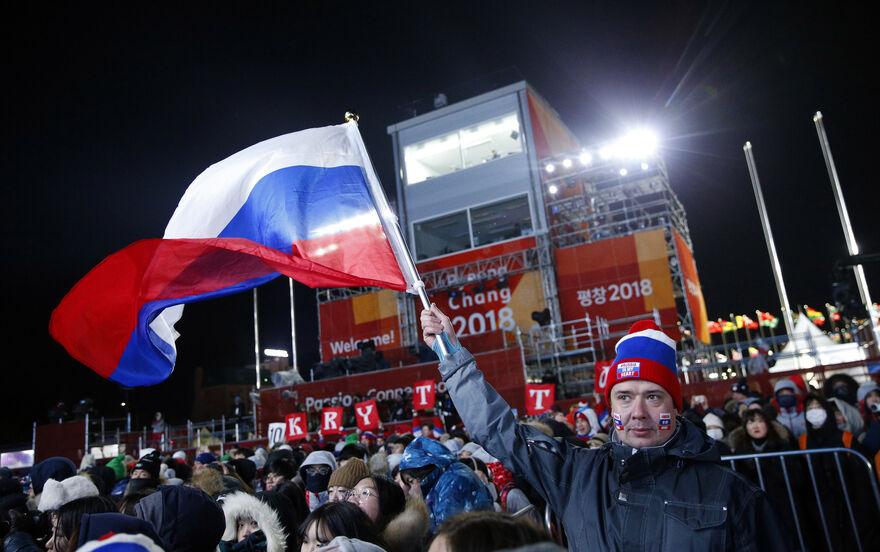 Russland Olympia 2021