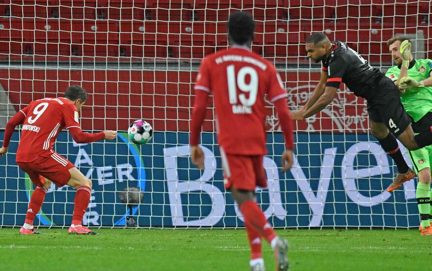 Lewandowski Leverkusen