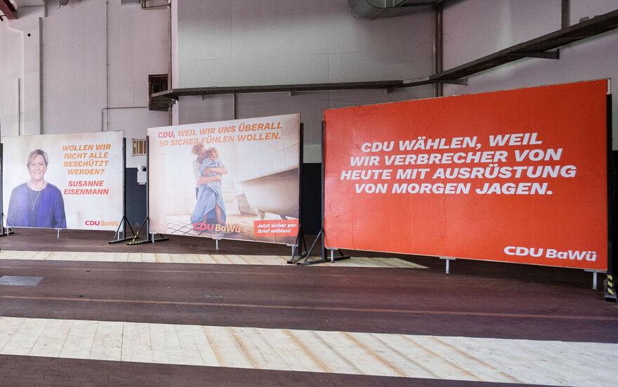 Cdu Wahlplakat In Baden Wurttemberg Sorgt Fur Spott Wir Verbrecher Von Heute Politik Allgauer Zeitung